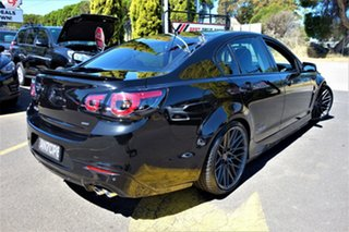 2015 Holden Commodore VF II MY16 SS Black 6 Speed Manual Sedan.