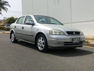 2001 Holden Astra TS CD Silver 4 Speed Automatic Hatchback.