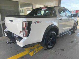 2020 Isuzu D-MAX RG MY21 X-TERRAIN Crew Cab Marble White Pearl 6 Speed Sports Automatic Utility.