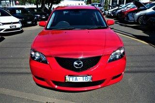 2005 Mazda 3 BK10F1 Neo Red 5 Speed Manual Hatchback