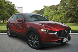 2020 Mazda CX-30 DM4WLA G25 SKYACTIV-Drive i-ACTIV AWD Touring Soul Red 6 Speed Sports Automatic.