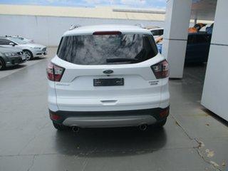 2017 Ford Escape TREND White Automatic SUV.