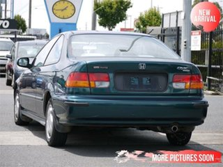 1997 Honda Civic EJ VTi Green 4 Speed Automatic Coupe.