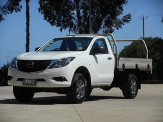 2017 Mazda BT-50 UR0YE1 XT 4x2 Hi-Rider 6 Speed Sports Automatic Cab Chassis