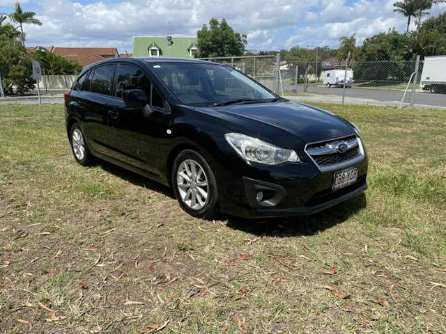 Used Subaru Impreza G4 MY12 2.0i AWD Kippa-Ring, 2012 Subaru Impreza G4 MY12 2.0i AWD Black 6 Speed Manual Hatchback
