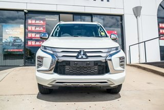 2020 Mitsubishi Pajero Sport QF MY20 GLS White 8 Speed Sports Automatic Wagon.