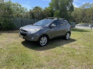 2010 Hyundai ix35 LM Highlander AWD Grey 6 Speed Sports Automatic Wagon.