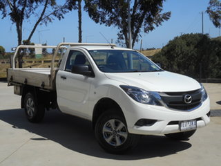 2017 Mazda BT-50 UR0YE1 XT 4x2 Hi-Rider 6 Speed Sports Automatic Cab Chassis.