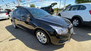 2015 Holden Cruze JH Series II MY16 Equipe Black 6 Speed Sports Automatic Hatchback.