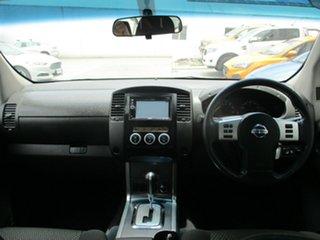 2011 Nissan Navara D40 Series 4 ST-X (4x4) White 5 Speed Automatic Dual Cab Pick-up
