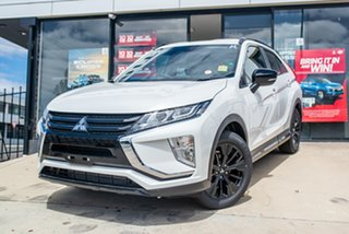 2020 Mitsubishi Eclipse Cross YA MY20 Black Edition 2WD Starlight 8 Speed Constant Variable Wagon.