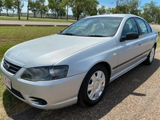 2007 Ford Falcon BF Mk II XT Silver 4 Speed Sports Automatic Sedan.