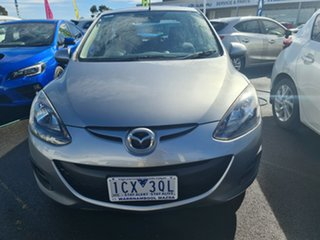 2014 Mazda 2 DE10Y2 MY14 Neo Sport Silver 4 Speed Automatic Hatchback