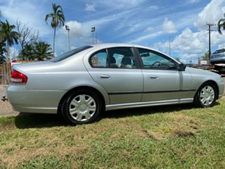 2007 Ford Falcon BF Mk II XT Silver 4 Speed Sports Automatic Sedan