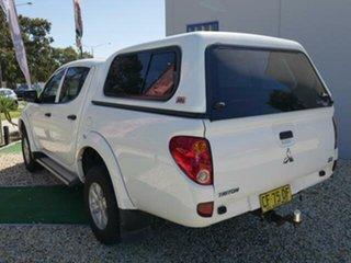 2015 Mitsubishi Triton MN MY15 GLX (4x4) 4 Speed Automatic 4x4 Double Cab Utility.