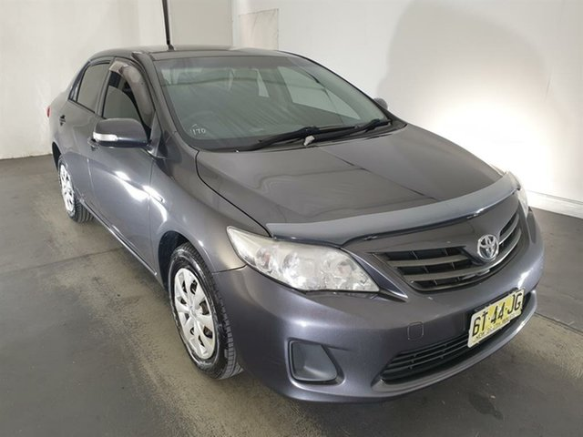 Used Toyota Corolla ZRE152R MY11 Ascent Maryville, 2012 Toyota Corolla ZRE152R MY11 Ascent Grey 6 Speed Manual Sedan