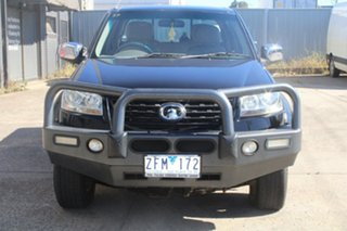2012 Great Wall V200 K2 (4x4) Black 6 Speed Manual Dual Cab Utility.