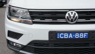2018 Volkswagen Tiguan 5N MY18 110TSI DSG 2WD Trendline White 6 Speed Sports Automatic Dual Clutch