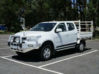 2015 Holden Colorado RG Turbo LS White Manual CREWCAB CHASSIS.