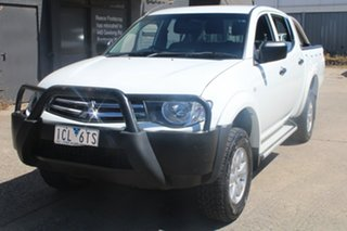 2014 Mitsubishi Triton MN MY14 Update GLX (4x4) 4 Speed Automatic 4x4 Double Cab Utility.
