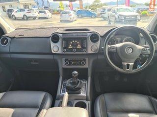 2014 Volkswagen Amarok 2H MY14 TDI400 4Mot Highline Silver 6 Speed Manual Utility