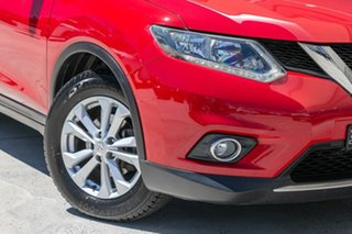 2014 Nissan X-Trail T32 ST-L X-tronic 2WD Red 7 Speed Constant Variable Wagon.