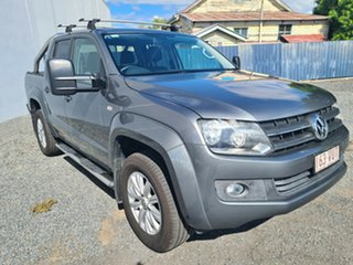 2013 Volkswagen Amarok 2H MY14 TDI420 4Motion Perm Highline Grey 8 Speed Automatic Utility