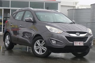 2010 Hyundai ix35 LM Elite AWD Grey 6 Speed Sports Automatic Wagon.
