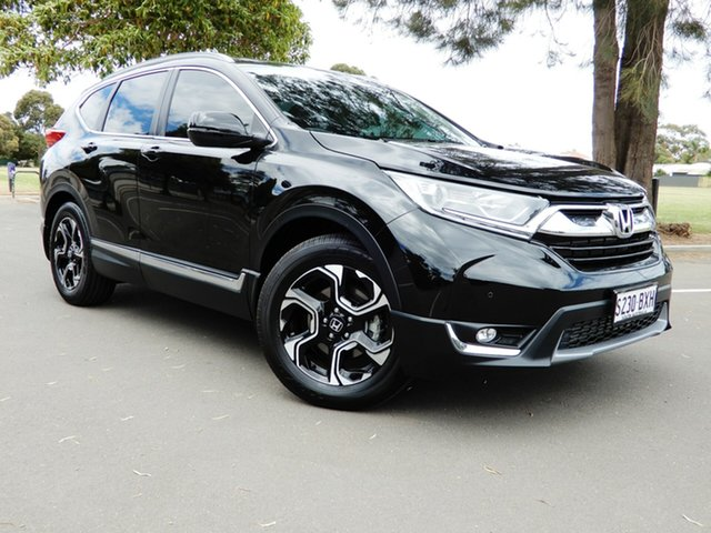 Used Honda CR-V RW MY18 VTi-L FWD Glenelg, 2018 Honda CR-V RW MY18 VTi-L FWD Black 1 Speed Constant Variable Wagon