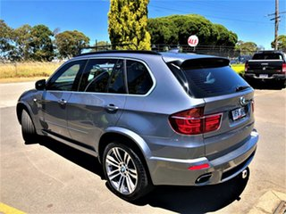 2011 BMW X5 E70 MY12 xDrive40d Steptronic Sport Silver 8 Speed Sports Automatic Wagon