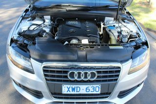 2010 Audi A4 B8 8K MY10 Multitronic Silver 8 Speed Constant Variable Sedan