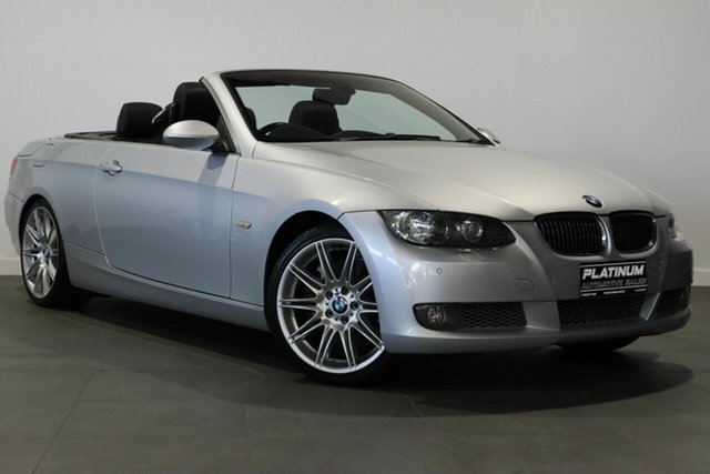 Used BMW 3 Series E93 335i Steptronic Bayswater, 2007 BMW 3 Series E93 335i Steptronic Silver 6 Speed Sports Automatic Convertible