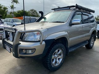 2004 Toyota Landcruiser Prado KZJ120R Grande Gold 4 Speed Automatic Wagon.