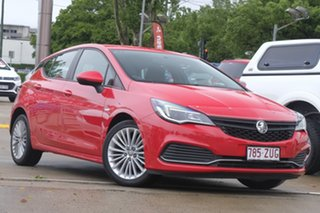 2016 Holden Astra BK MY17 R Red 6 Speed Manual Hatchback.