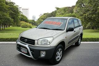 2001 Toyota RAV4 ACA21R Edge Gold 4 Speed Automatic Wagon.