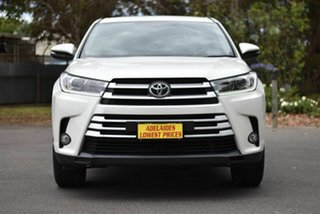 2017 Toyota Kluger GSU50R GX 2WD White 8 Speed Sports Automatic Wagon.