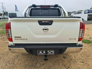 2016 Nissan Navara D23 ST-X 4x2 White 6 Speed Manual Utility