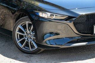 2020 Mazda 3 BP2H7A G20 SKYACTIV-Drive Evolve Black 6 Speed Sports Automatic Hatchback.