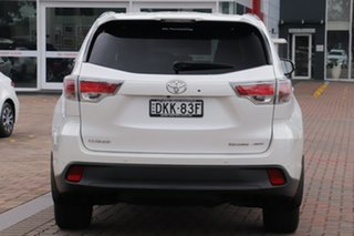 2016 Toyota Kluger GSU55R Grande AWD White 6 Speed Sports Automatic SUV