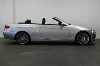 2007 BMW 3 Series E93 335i Steptronic Silver 6 Speed Sports Automatic Convertible.