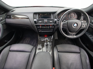 2015 BMW X4 F26 MY15 xDrive 30D Red 8 Speed Automatic Coupe