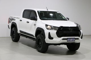 2020 Toyota Hilux GUN126R Facelift SR (4x4) White 6 Speed Manual Double Cab Pick Up