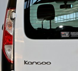 2013 Renault Kangoo F61 Phase II White 5 Speed Manual Van