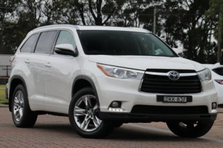 2016 Toyota Kluger GSU55R Grande AWD White 6 Speed Sports Automatic SUV.