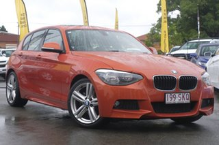 2012 BMW 118i F20 118i Orange 8 Speed Sports Automatic Hatchback.