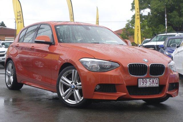 Used BMW 118i F20 118i Toowoomba, 2012 BMW 118i F20 118i Orange 8 Speed Sports Automatic Hatchback