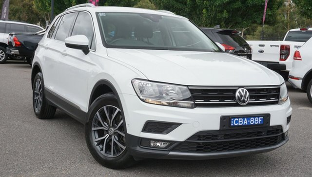 Used Volkswagen Tiguan 5N MY18 110TSI DSG 2WD Trendline Phillip, 2018 Volkswagen Tiguan 5N MY18 110TSI DSG 2WD Trendline White 6 Speed Sports Automatic Dual Clutch