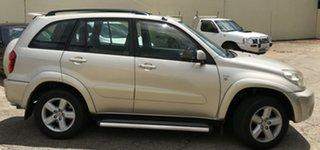 2005 Toyota RAV4 ACA23R Cruiser Gold 4 Speed Automatic Wagon.