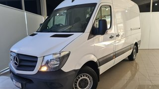 2016 Mercedes-Benz Sprinter NCV3 313CDI High Roof LWB 7G-Tronic White 7 Speed Sports Automatic Van.