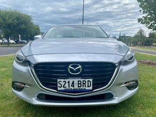 2017 Mazda 3 BN5238 SP25 SKYACTIV-Drive GT Sonic Silver 6 Speed Sports Automatic Sedan.